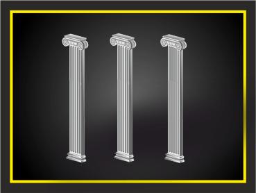 Пилястры, декоративный элемент из архикамня или стеклофибробетона