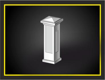Стодб, декоративный элемент из архикамня или стеклофибробетона