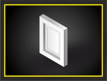 филенка, декоративный элемент из архикамня или стеклофибробетона