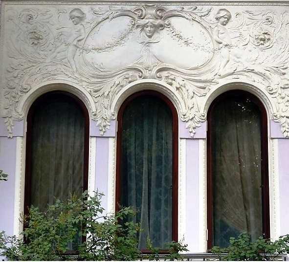 Декор из стеклофибробетона