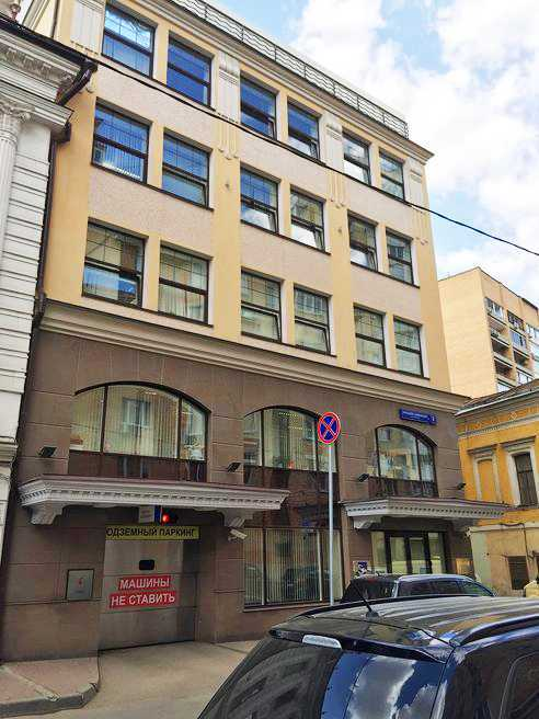 Карниз фасада здания из стеклофибробетона