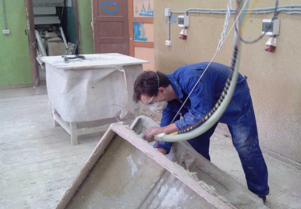 Производство стеклофибробетона