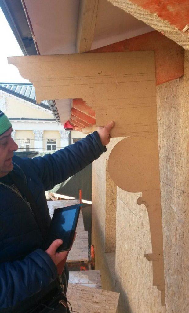 изготовление архитектурного декора из стеклофибробетона